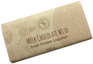 Milk Butlers chocolate with Irish Cream Liqueur