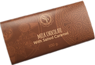 Milk Butlers chocolate with Salted Caramel