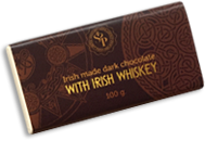 Dark Butlers chocolate with Irish Whiskey