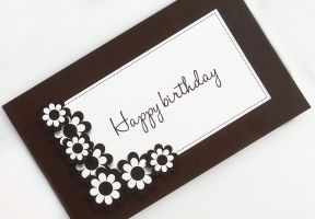 Happy birthday greeting card sweetpost signature design